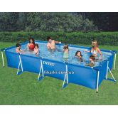 Каркасный бассейн Intex 28273 Rectangular Frame Pool (450х220х84)