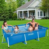 Каркасный бассейн Intex 28272 Rectangular Frame Pool (300х200х75)