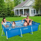 Каркасный бассейн Intex 28271 Rectangular Frame Pool (260х160х65)