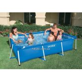 Каркасный бассейн Intex 28270 Rectangular Frame Pool (220х150х60)