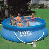 Надувной бассейн Intex 28146 Easy Set Pool (366х91), бассейн 28146