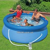 Надувной бассейн Intex 28112 Easy Set Pool (244х76), бассейн 28112